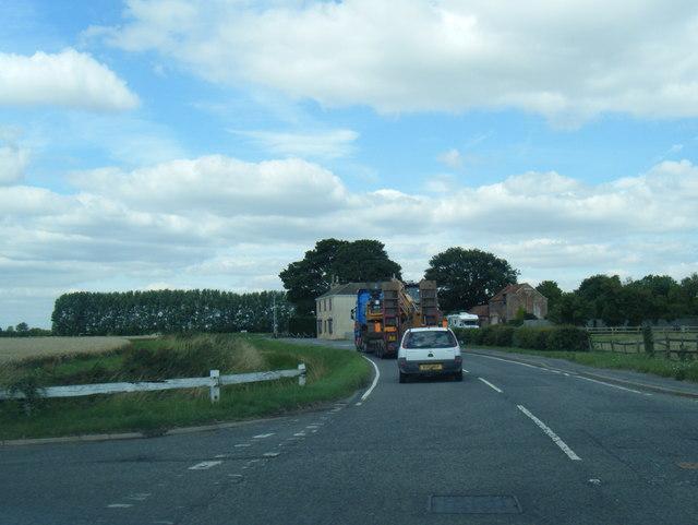 A1031 Main Road at Grainthorpe