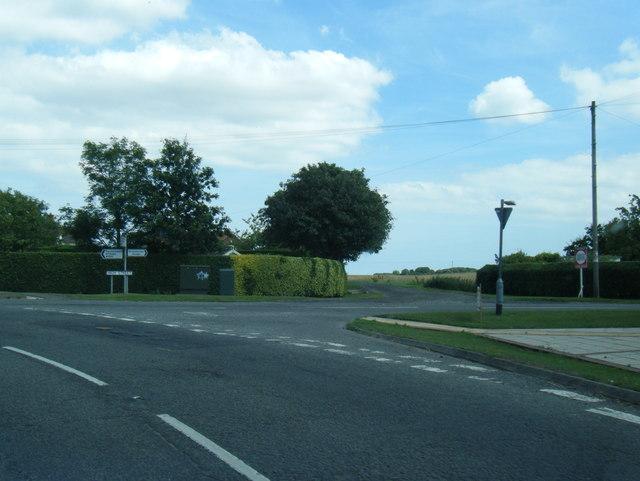 A1031/High Street junction
