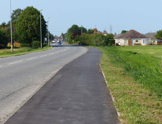 London Road towards Wyberton