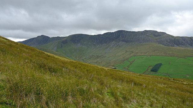 Northern slope of Esgeirau Gwynion