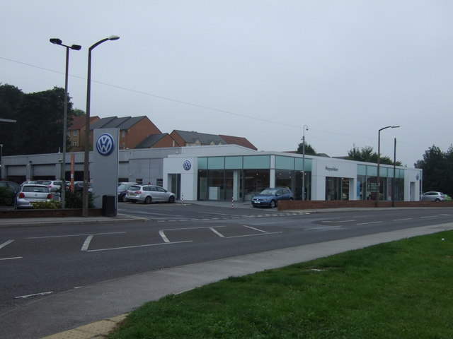 Car dealership on Wilthorpe Road