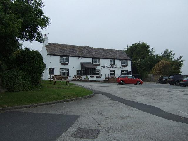 The Crown & Anchor pub, Barugh