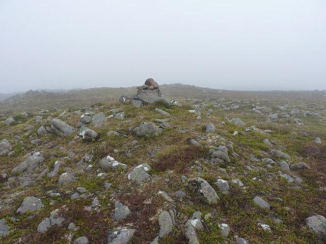 A subsidiary summit of Beinn Bhreac