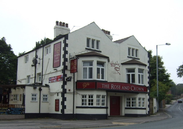 The Rose & Crown pub