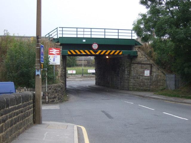 Railway bridge over Church Street