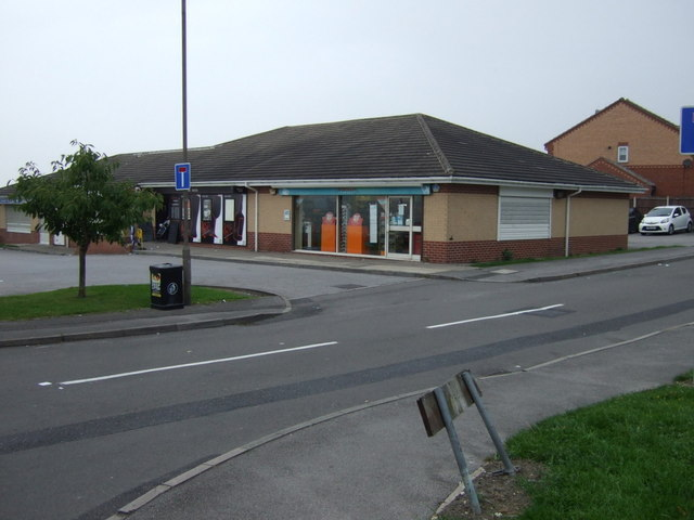 Shops off Croft Drive