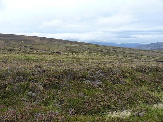 The area of the Fèith Mhòr Bhàn