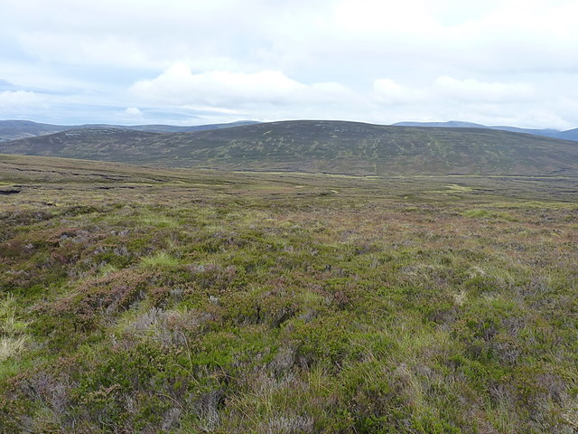 Across the valley of the Bynack Burn