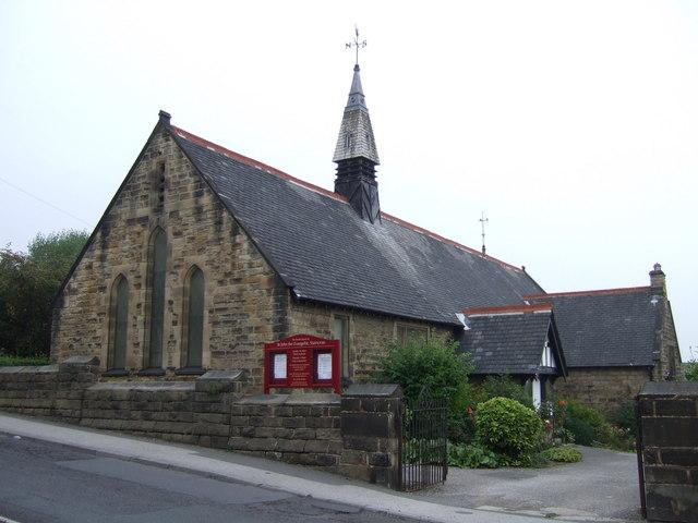 Parish church of St.John the Evangelist, Staincros