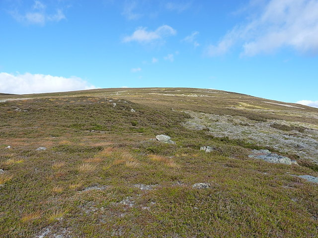 Uphill towards Meall Dorch