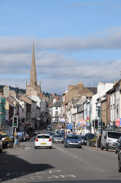 Monnow Street, Monmouth