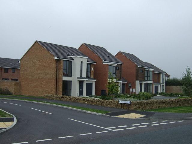 Modern housing, Royston
