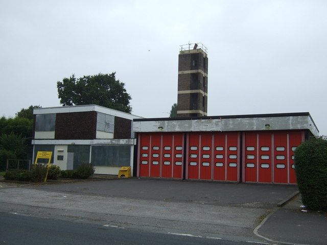 Disused fire station, Royston