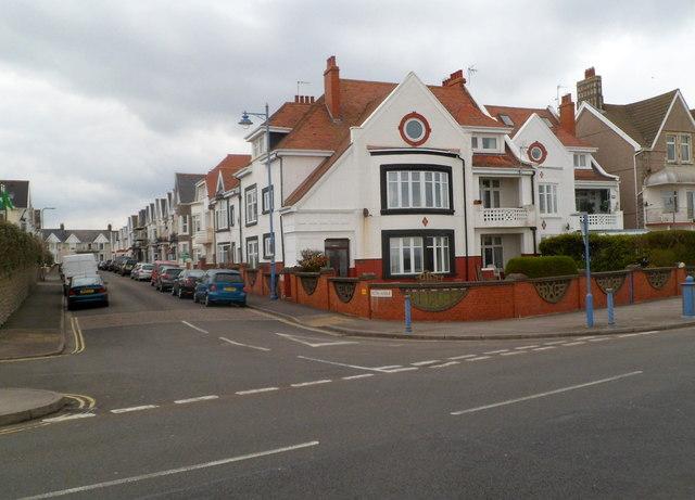 Corner of Picton Avenue and The Esplanade Porthcawl