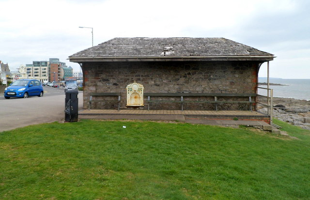 Seafront shelter, Porthcawl