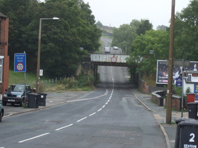 Railway bridge over Midland Road