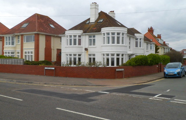 Corner of West Drive and The Green Avenue, Porthcawl