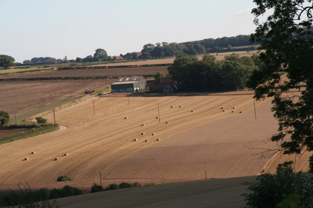 Bullen's Hill Farm from Stoneknowle Hill