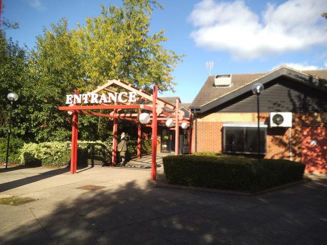 Services Entrance