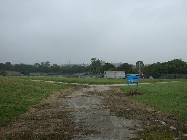 Sewage works near Grimethorpe