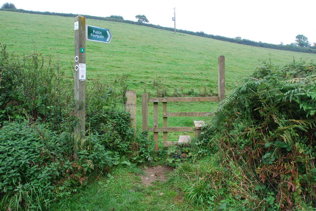 Footpath and Stile