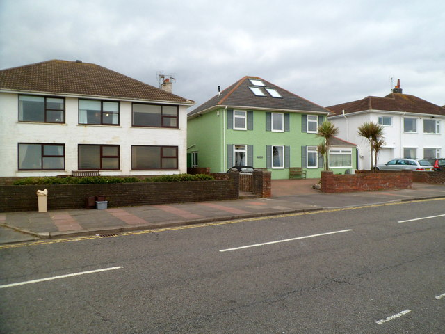 Green house in West Drive Porthcawl