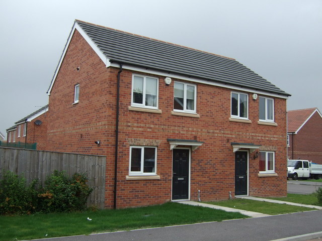 New housing, Grimethorpe