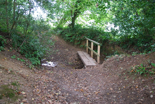 Narrow Footbridge