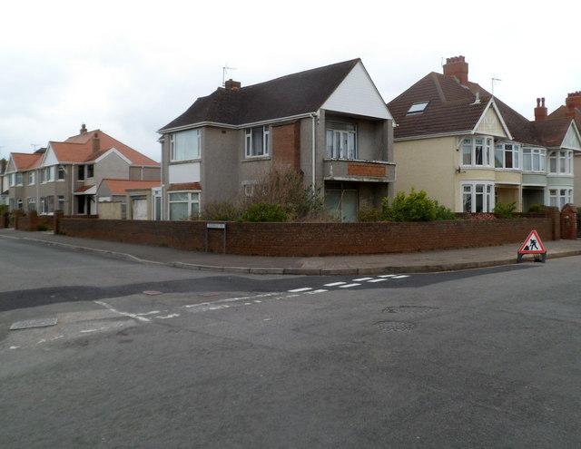 Corner of Victoria Avenue and Doddridge Way, Porthcawl