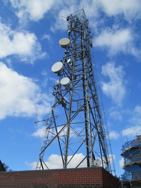 Transmission tower at Werrington