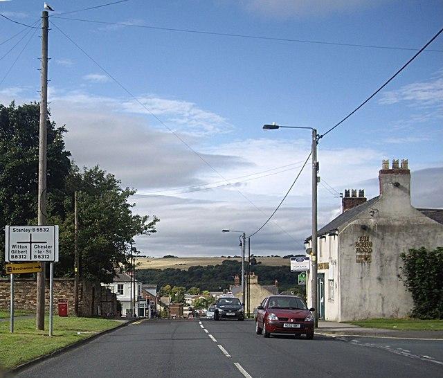 Sacriston crossroads