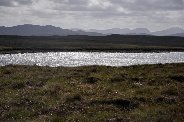 Loch na Bà Riabhaich