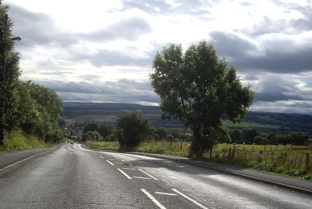 B6312 between Sacriston and Witton Gilbert