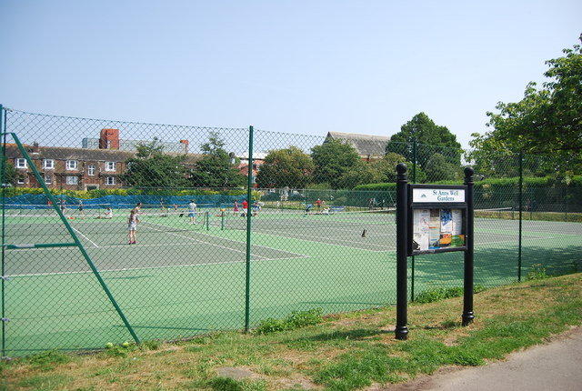 Tennis Courts, St Ann's Well Gardens