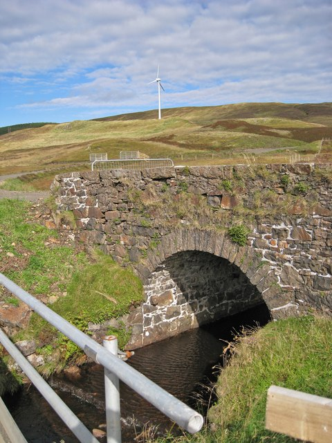 Bridge over the Vidigill Burn