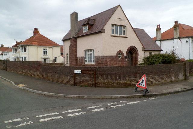 Corner of Victoria Avenue and Lougher Gardens, Porthcawl