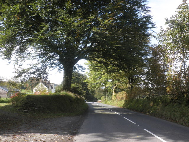 Approach to Simonsbath, from the east