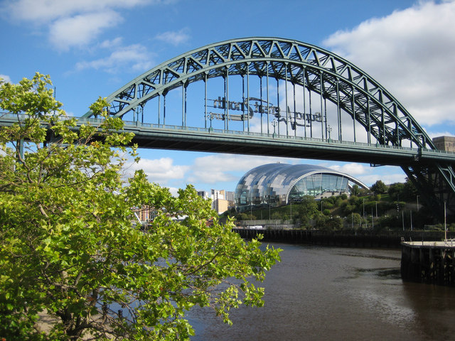 The Sage across the Tyne