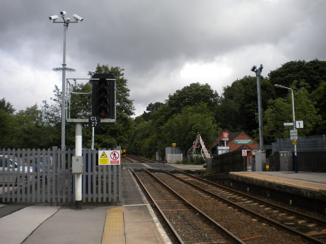 West end of Blythe Bridge station