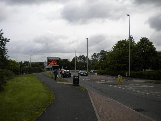 North end of Lysander Road, Meir Park