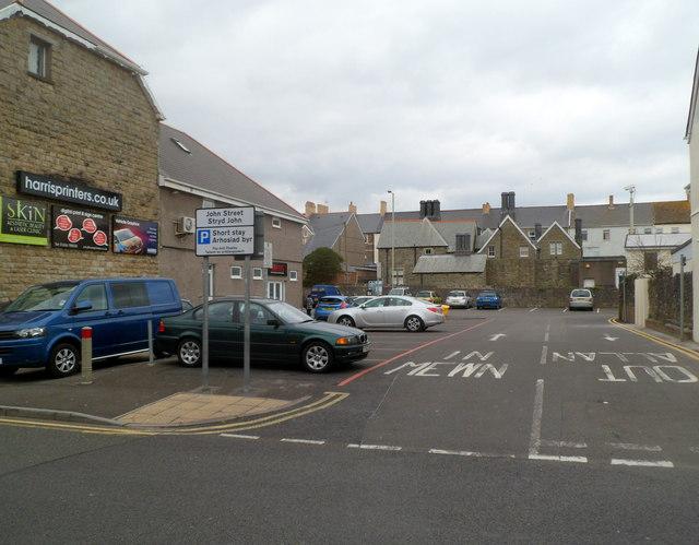 John Street short stay car park Porthcawl