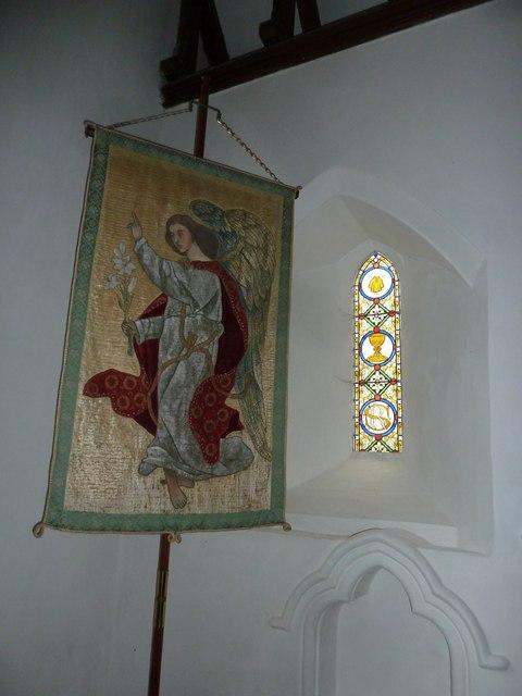 St Mary, Boyton: banner