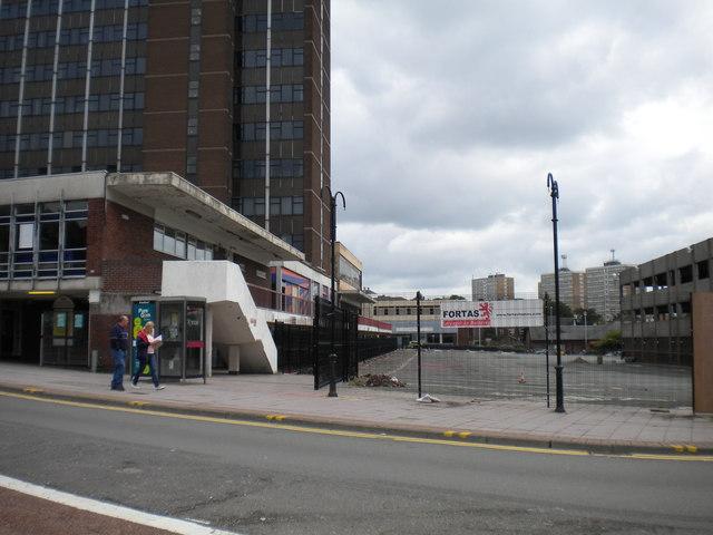 Old bus station, Hanley