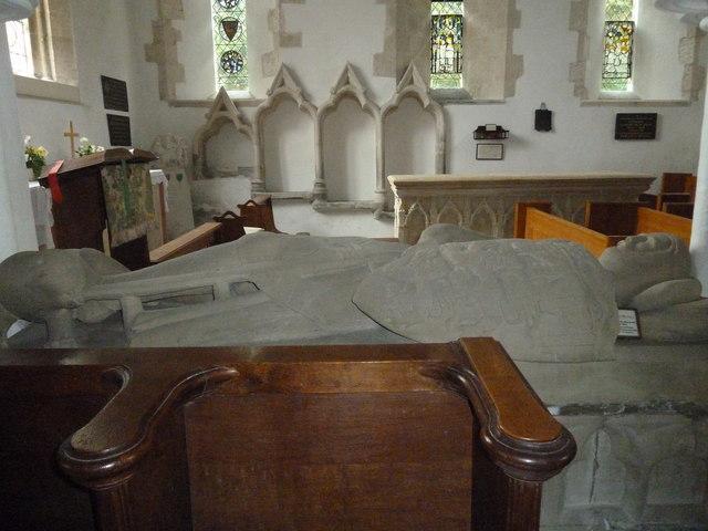 Inside St Mary, Boyton  (i)
