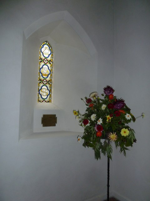 Inside St Mary, Boyton  (ii)