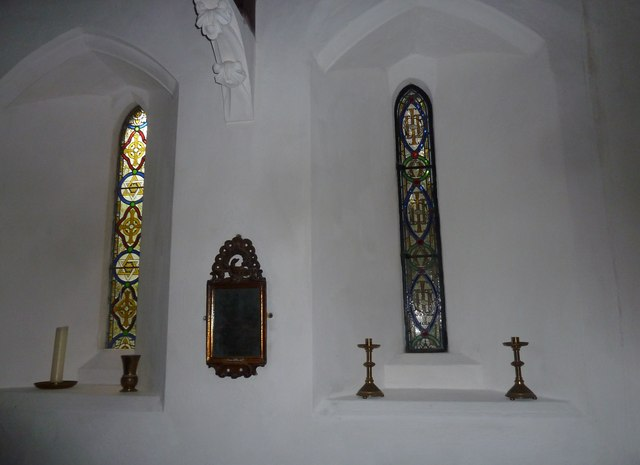 Inside St Mary, Boyton  (iv)