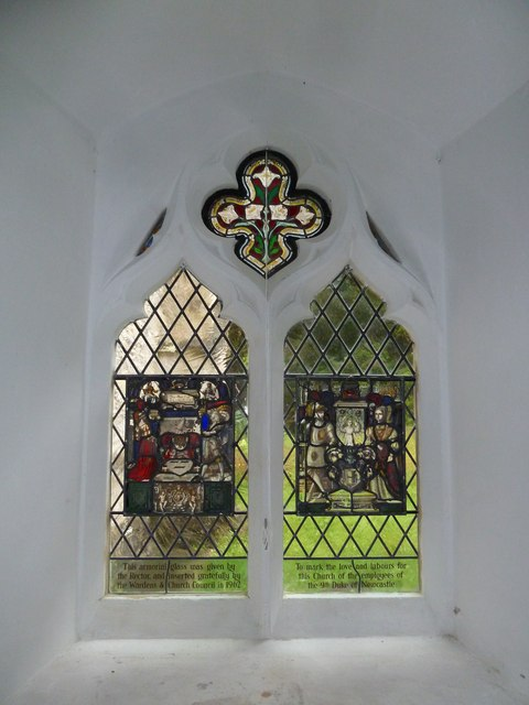 St Mary, Boyton: stained glass window  (E)