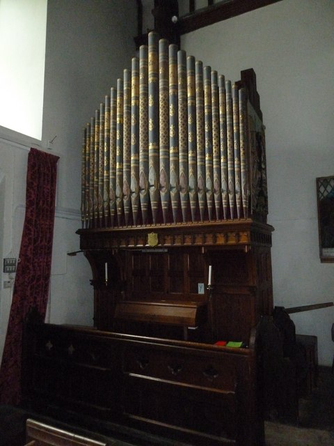 St Mary, Boyton: organ