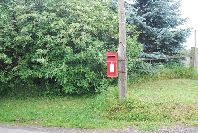 Rural postbox, Fontridge Lane