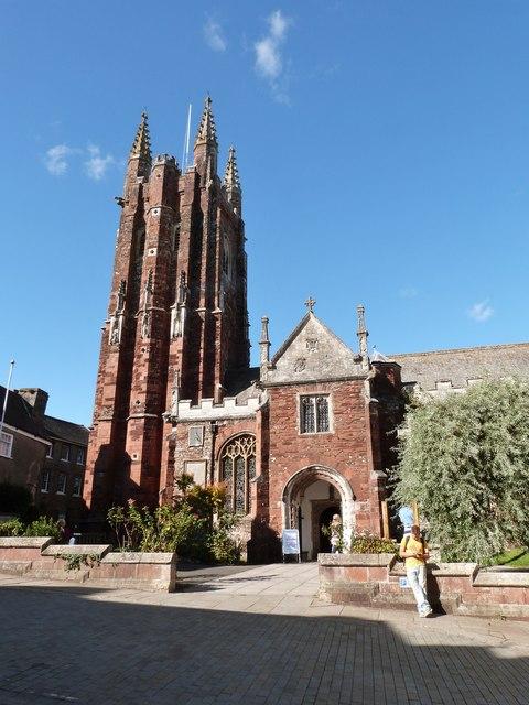 St. Mary's church, Totnes, Devon